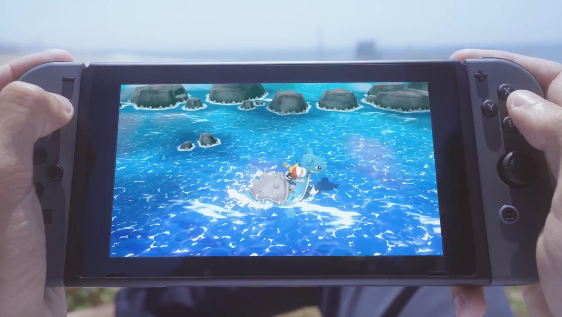 Lapras Screenshot Pokémon Lets Go