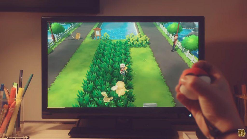 Pokemon Let's Go Grass Psyduck trailer