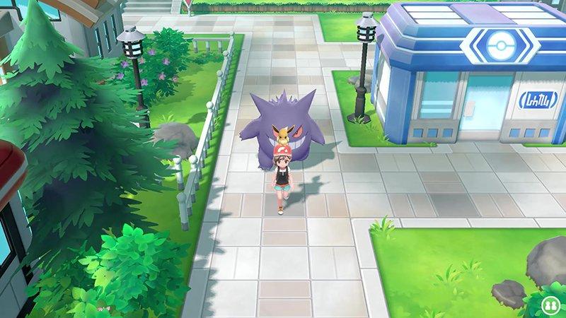 Pokemon Let's Go gengar